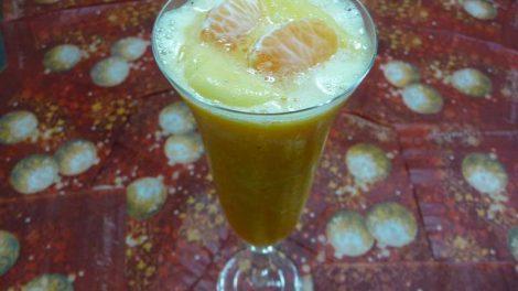 Sorbete de mandarina Thermomix