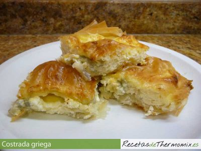Crostada griega Thermomix