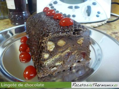 Lingote chocolate Thermomix
