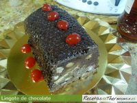 Lingote de chocolate de Thermomix