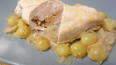 Pollo con uvas en Thermomix