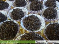 Trufas de chocolate de Thermomix