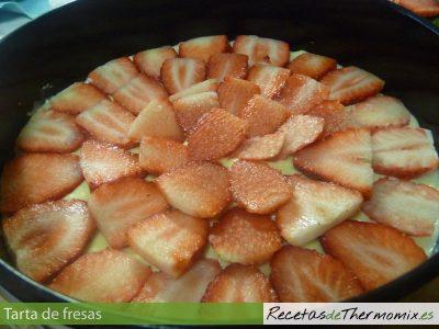 Como hacer tarta de fresas con la Thermomix