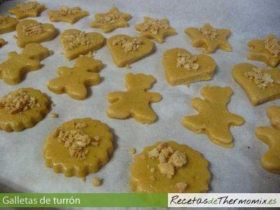 Masa para galletas de turron con Thermomix