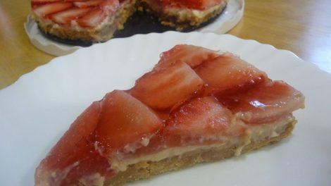 Tarta de fresas con Thermomix