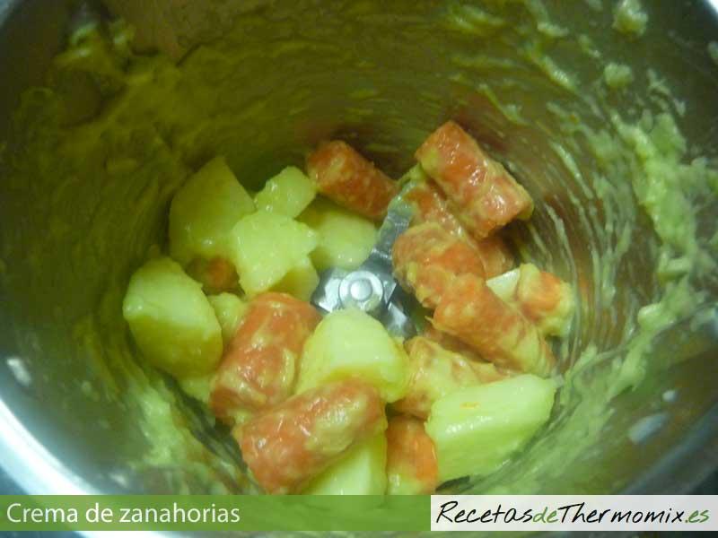 Cómo hacer crema de zanahoria con Thermomix