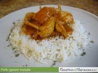 Collo garam masala con Thermomix