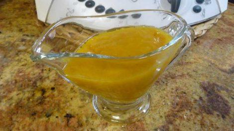 Salsa de mango con Thermomix