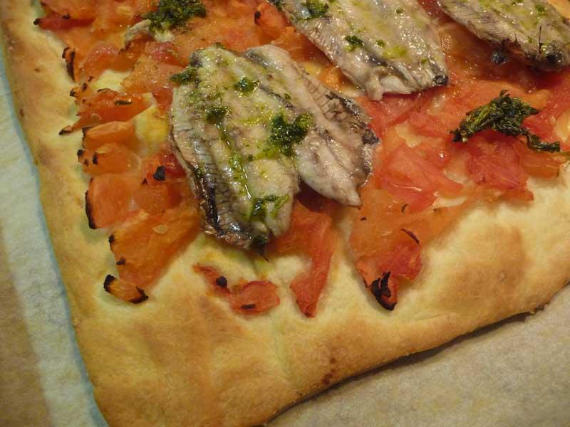 Tosta de sardinas con Thermomix