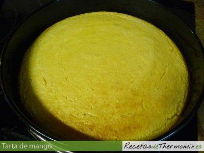 Base de tarta de mango con Thermomix
