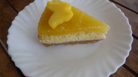 Tarta de mango con Thermomix