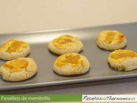Panellets de membrillo de Thermomix