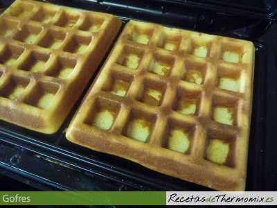 Gofres con Thermomix