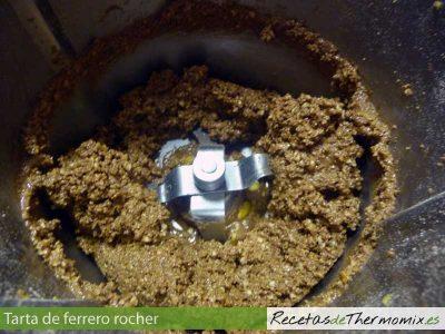 Como hacer tarta Ferrero Rocher con Thermomix