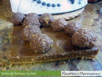 Tarta Ferrero Rocher con Thermomix