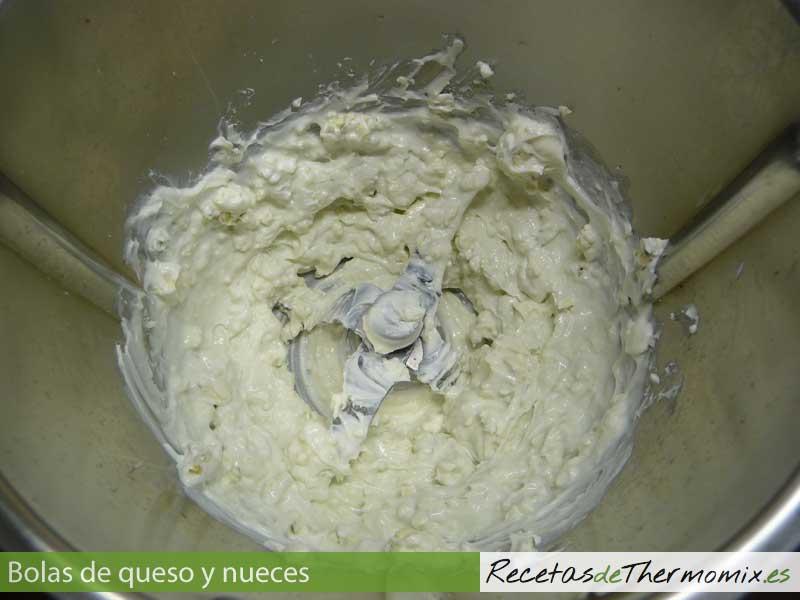 Como hacer bolas de queso y nueces con Thermomix