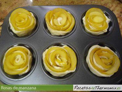 Cómo preparar rosas de manzana con Thermomix