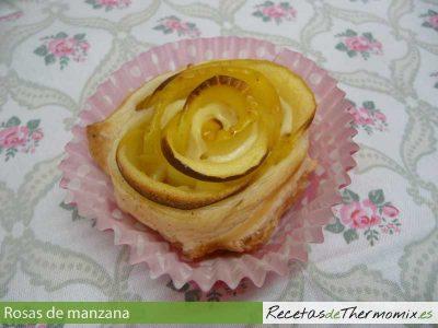 Rosa de manzana con Thermomix