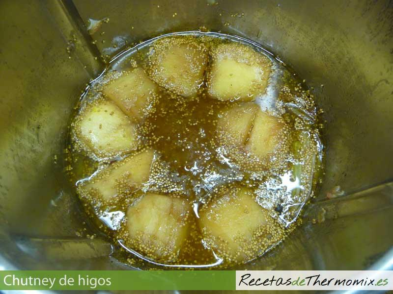Cómo preparar chutney de higos en Thermomix