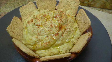 Hummus de lentejas Thermomix