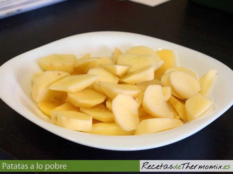 Patatas laminadas