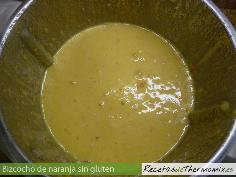 Cómo hacer bizcocho de naranja sin gluten en Thermomix