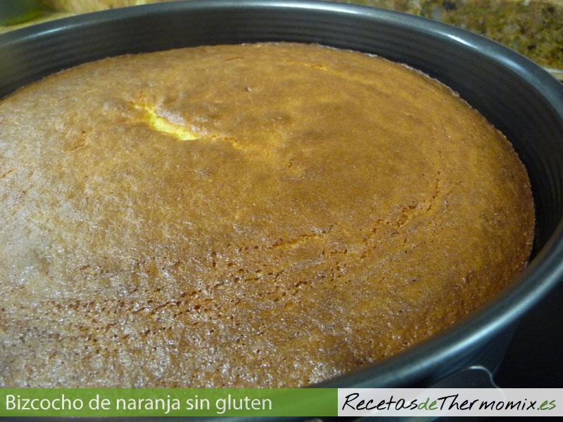 Cómo preparar bizcocho de naranja sin gluten en Thermomix