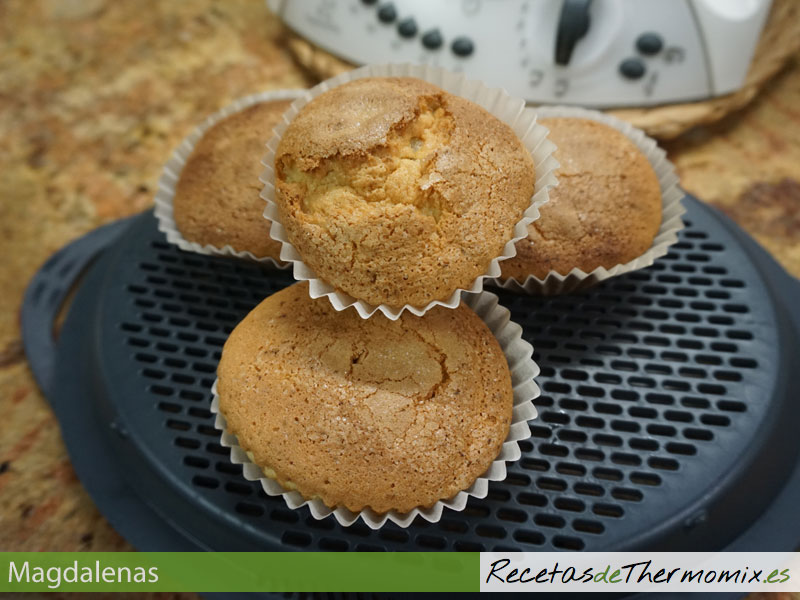Magdalenas con Thermomix