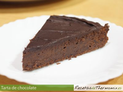 Tarta de chocolate de Thermomix