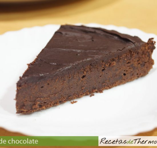 Tarta de chocolate Thermomix
