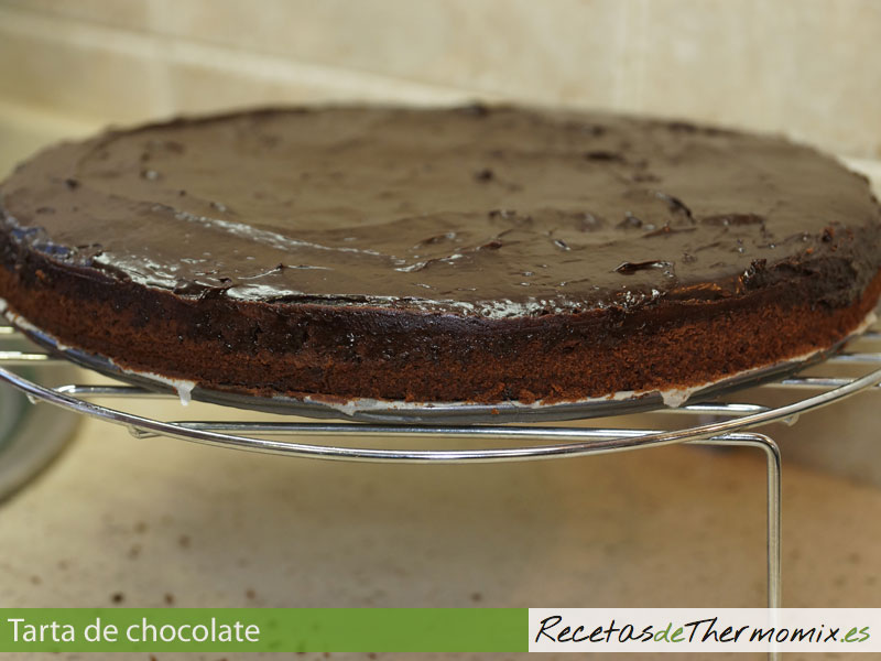 Tarta casera de chocolate con Thermomix