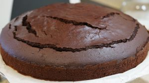 Bizcocho de chocolate con Thermomix