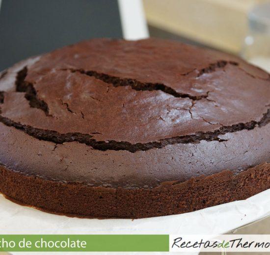 Bizcocho de chocolate con Thermomix