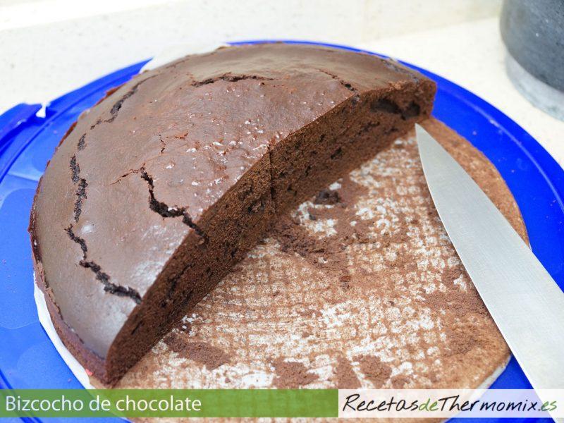 Cómo preparar bizcocho de chocolate con Thermomix