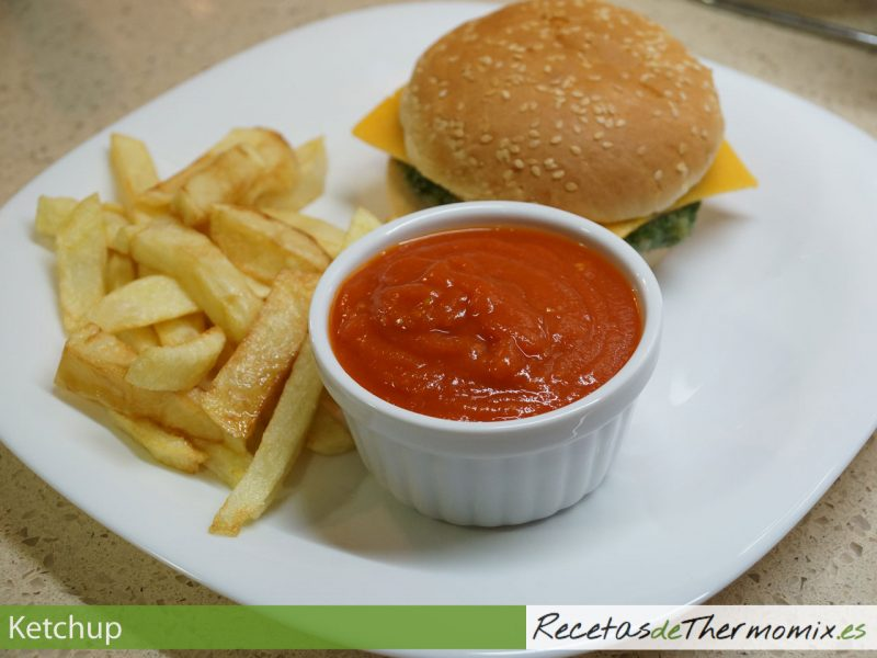 Ketchup con Thermomix