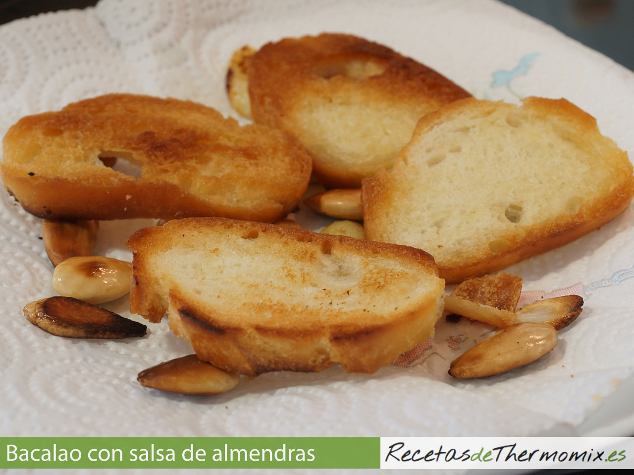 Ingredientes para majado con Thermomix