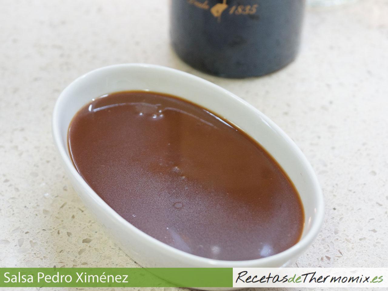 Salsa Pedro Ximenez Thermomix