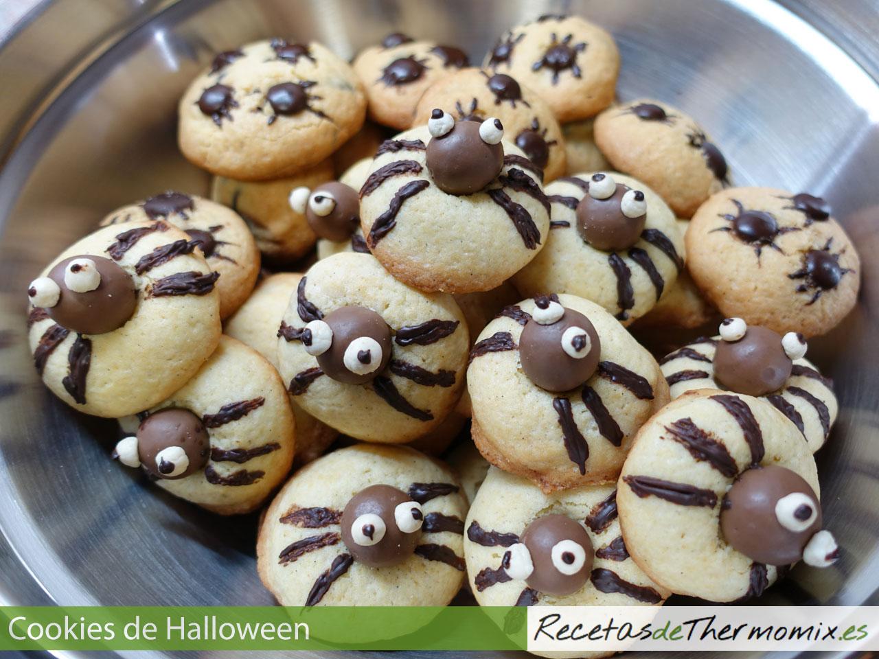 Cookies de Halloween con Thermomix