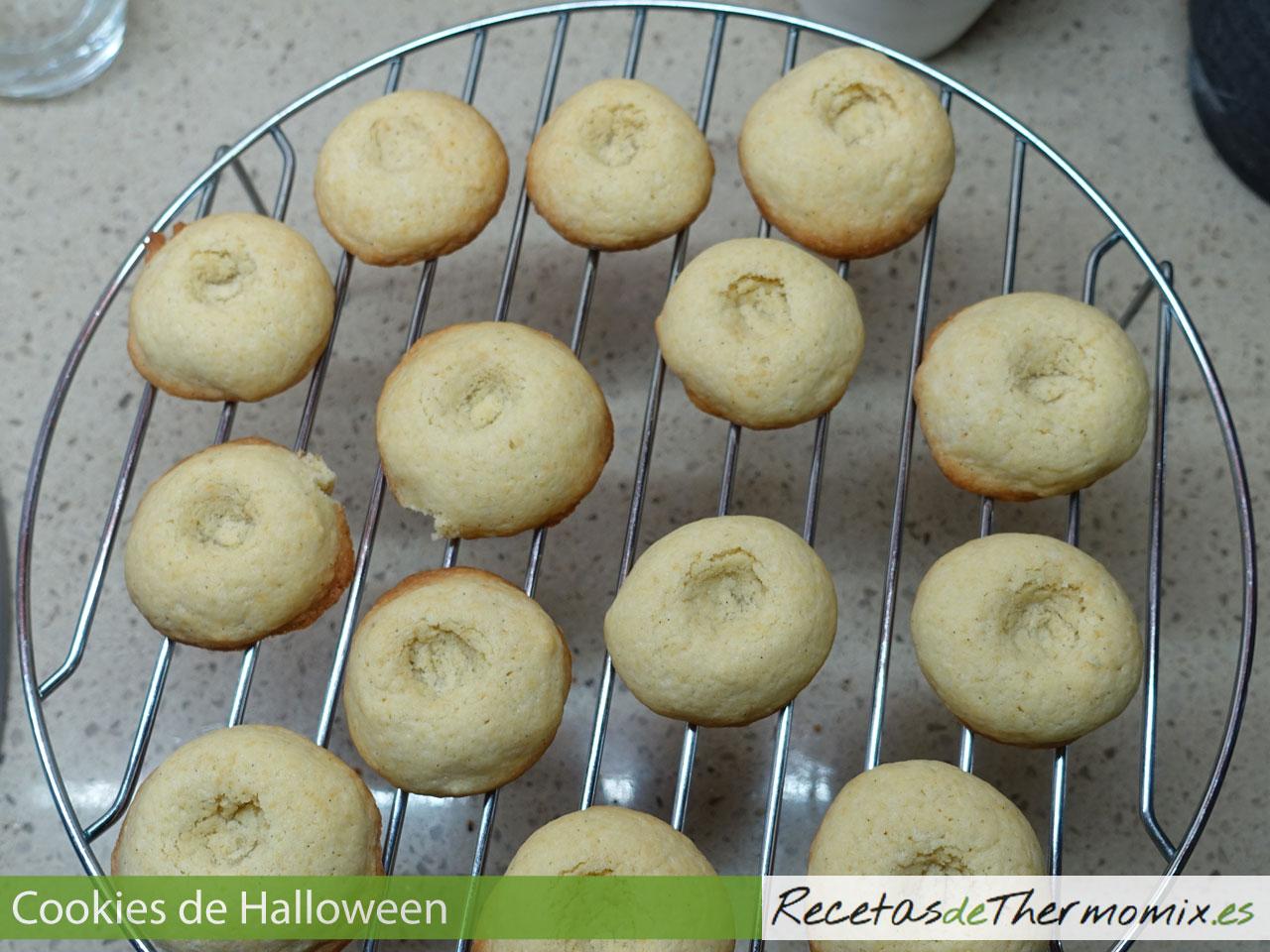 Cookies horneadas para Halloween con Thermomix
