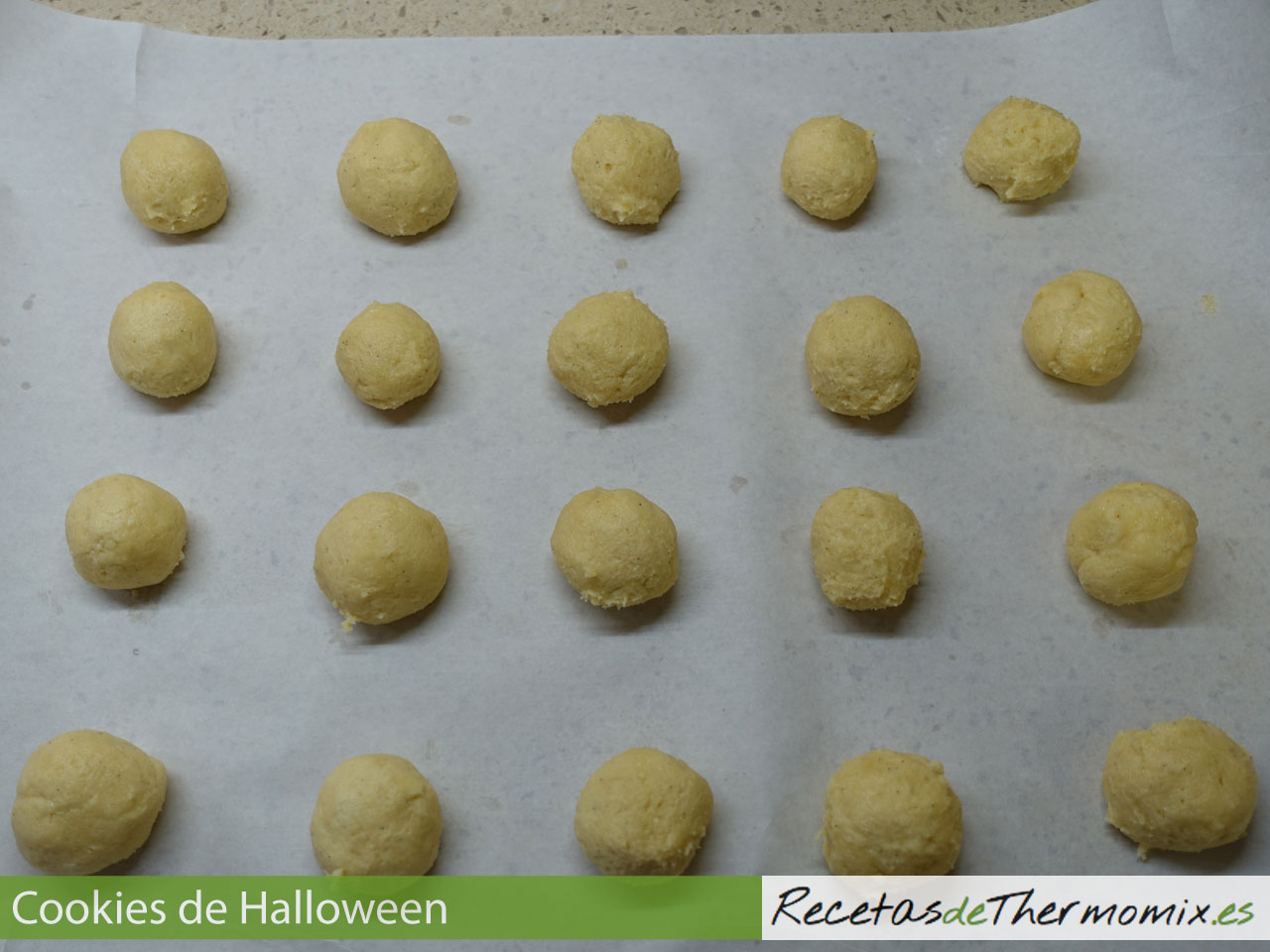 Masa de cookies sin chocolate con Thermomix