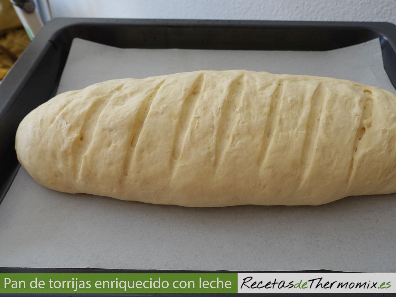 Cómo hacer pan de torrijas enriquecido con leche en Thermomix