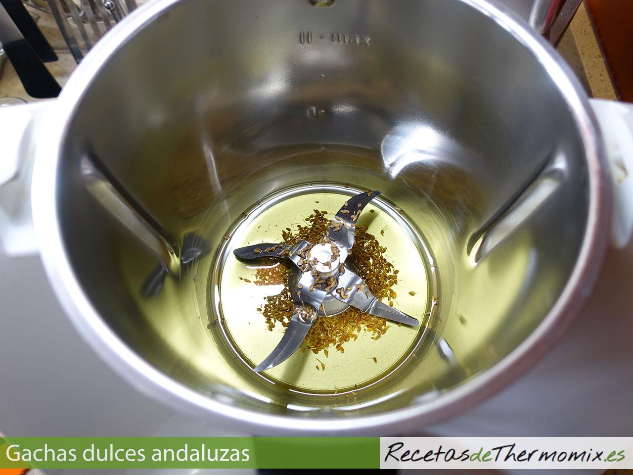 Cómo hacer gachas dulces andaluzas en Thermomix
